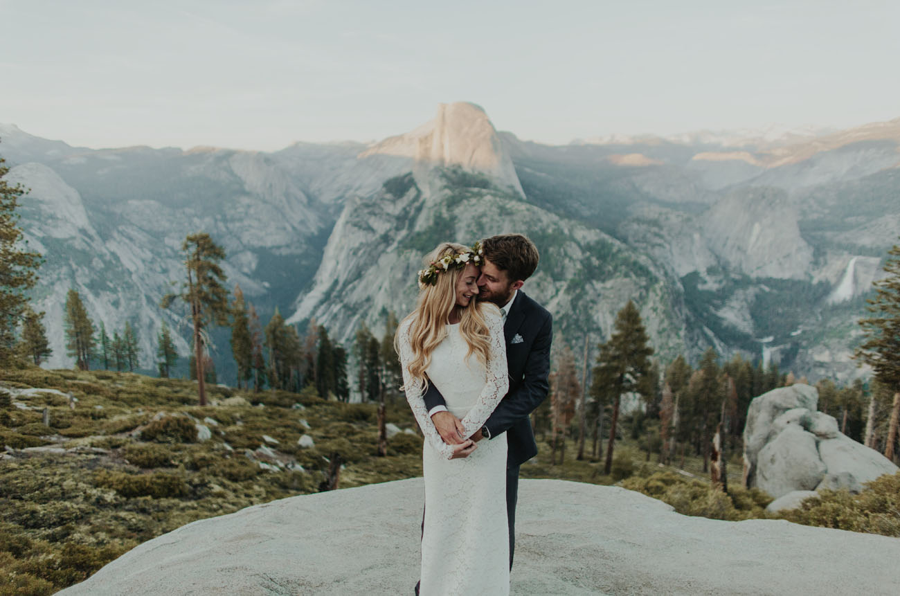 Romantic Yosemite Elopement: Rayne + Michael