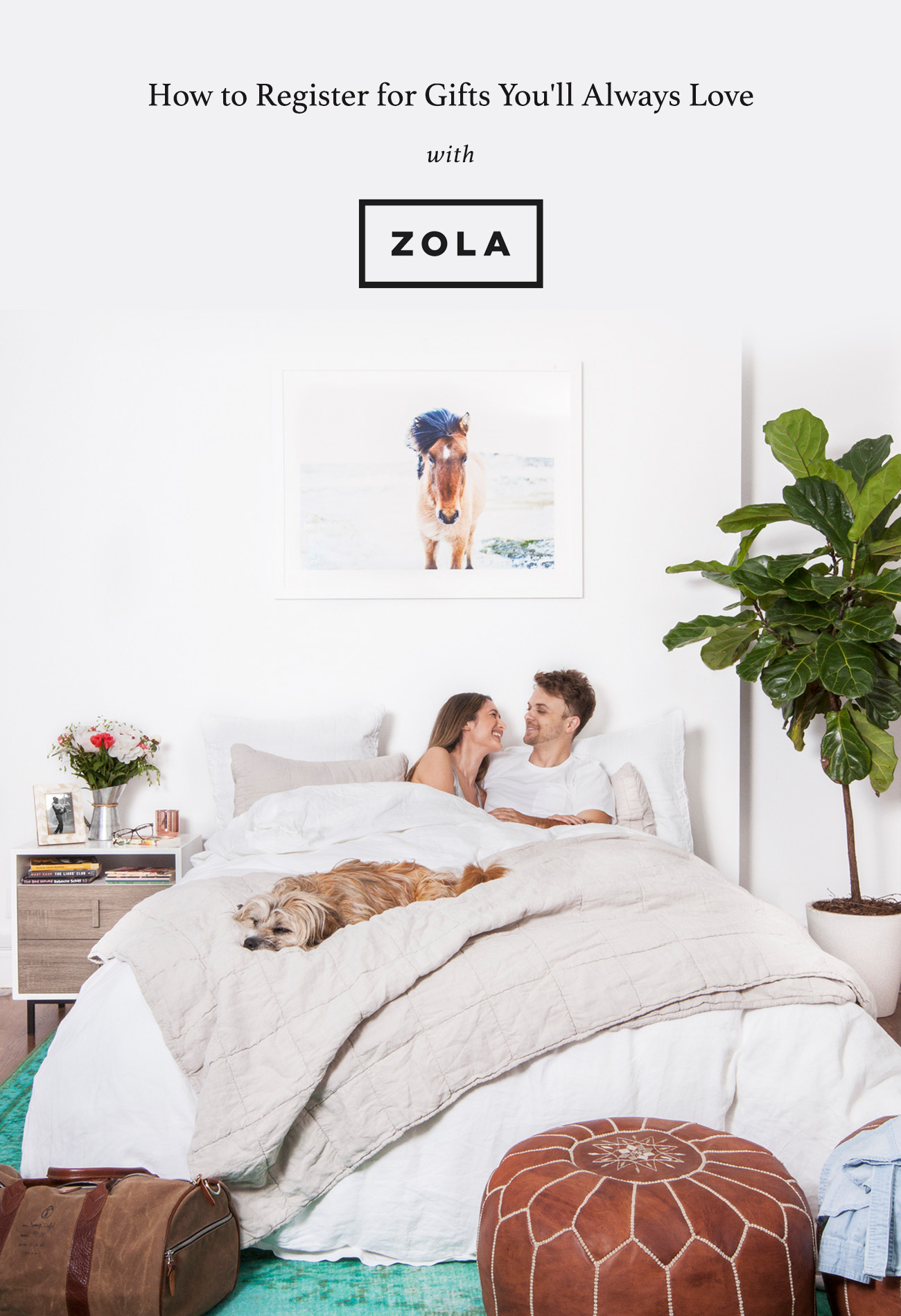 How to Register for Gifts you'll Love with ZOLA