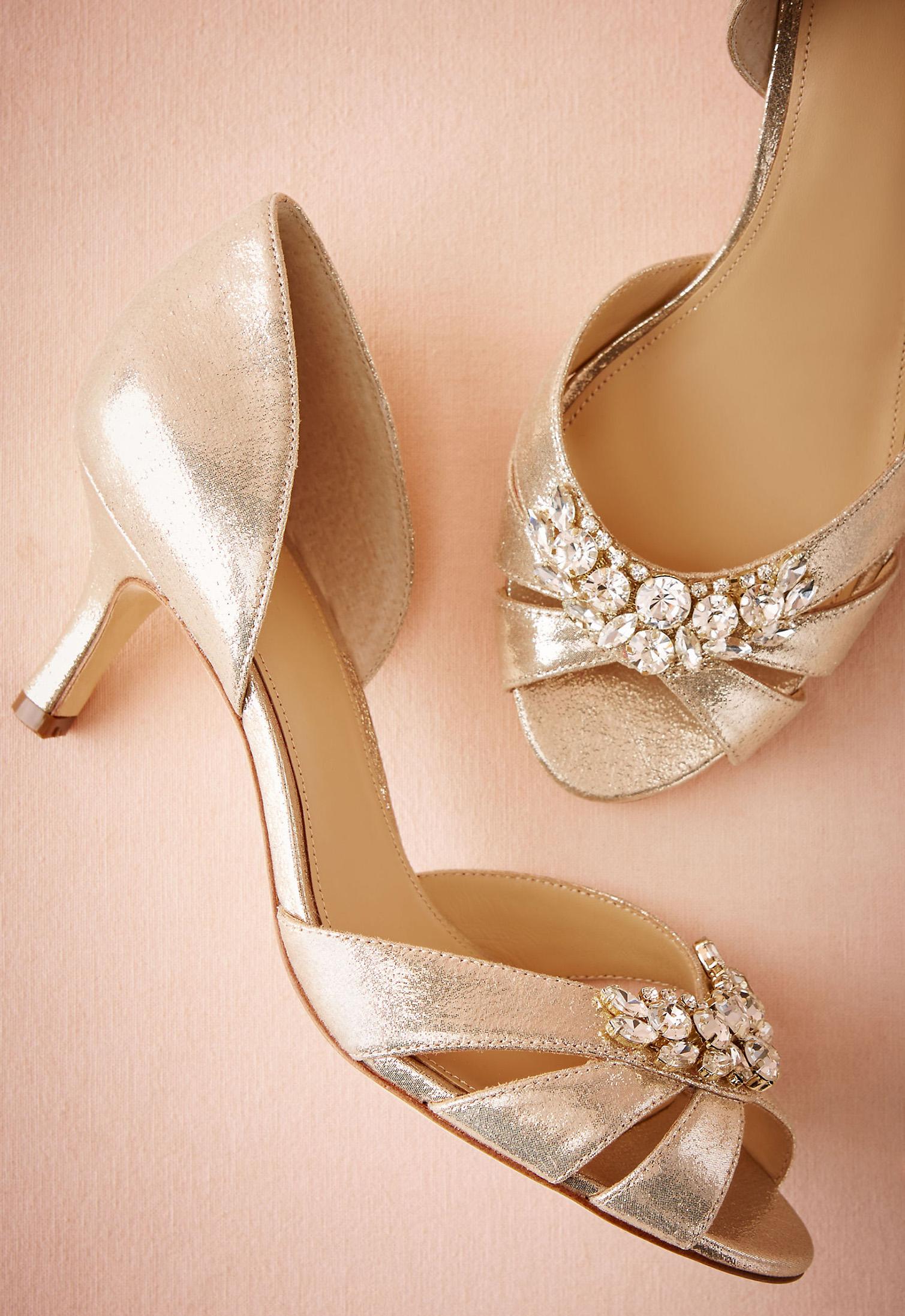 Martina d'Orsay | Green Wedding Shoes