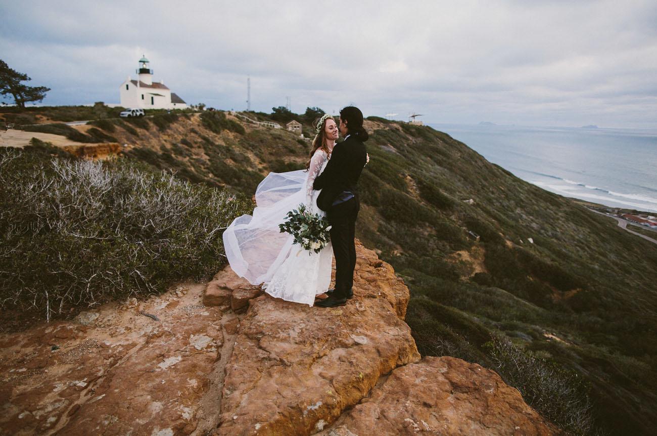San Diego Lighthouse Wedding
