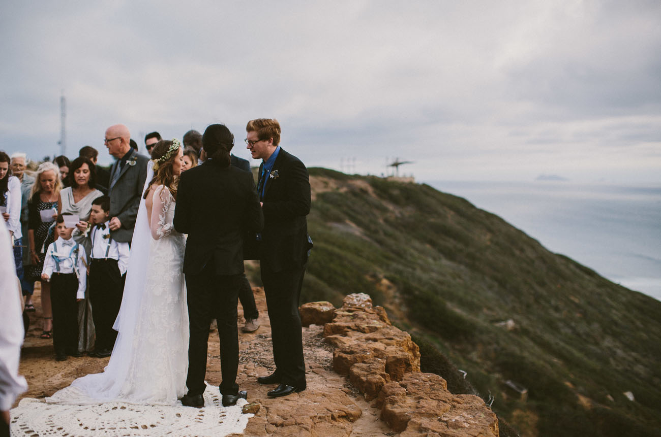 San Diego Lighthouse Wedding