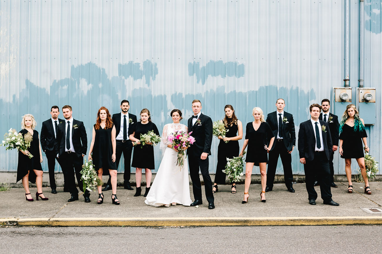 Floral Inspired Wedding in Portland: Amelia + Trevor - Green Wedding ...