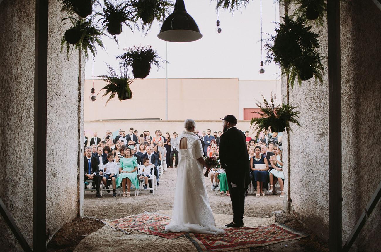 Old Wood Factory Spain Wedding