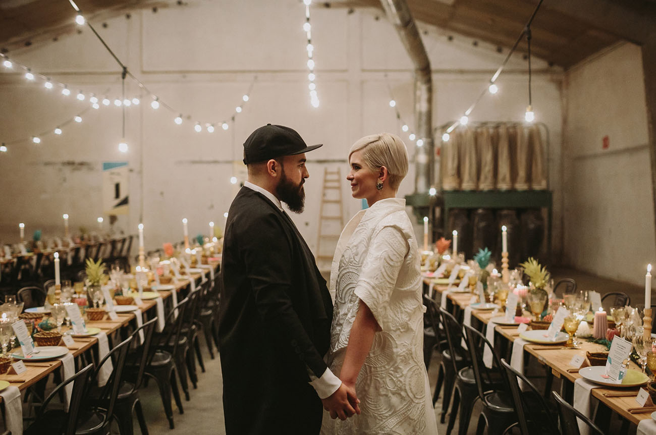 Old Wood Factory Spain Wedding