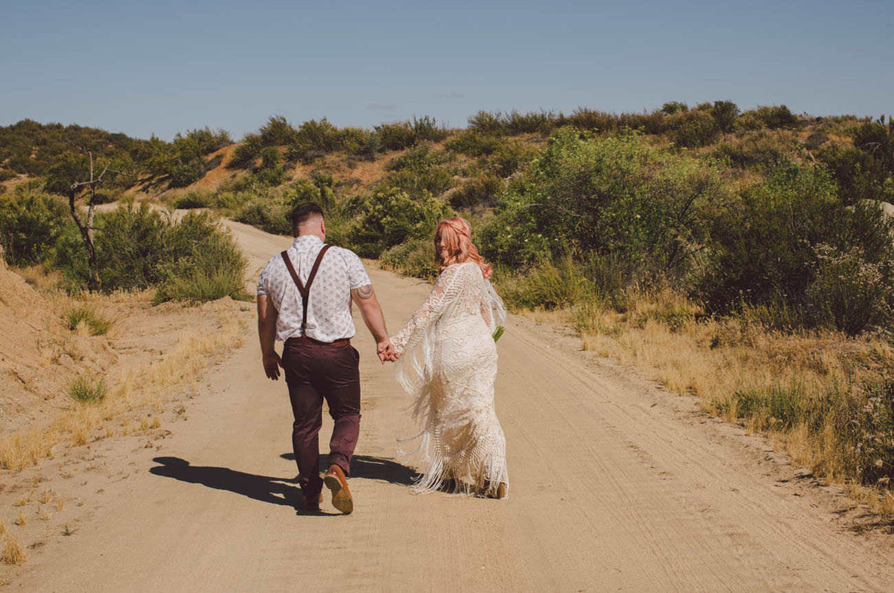 Boho Free Spirited Wedding