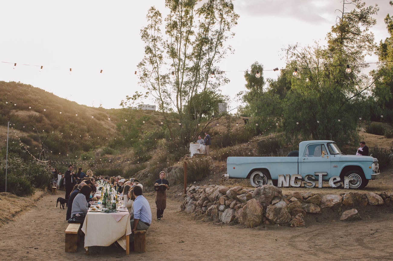 Boho Free Spirited Wedding