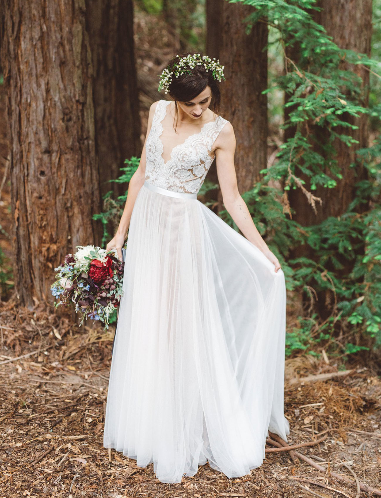 Camping Inspired Wedding In The Mountains Andria Kevin Green