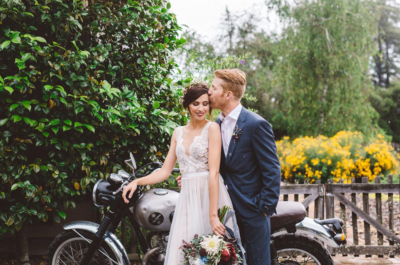 Camping Inspired Wedding