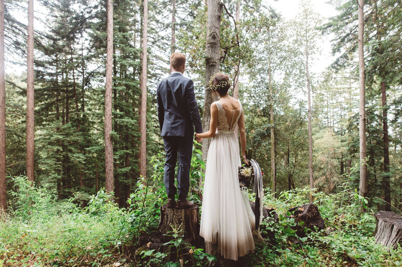 Camping Inspired Wedding