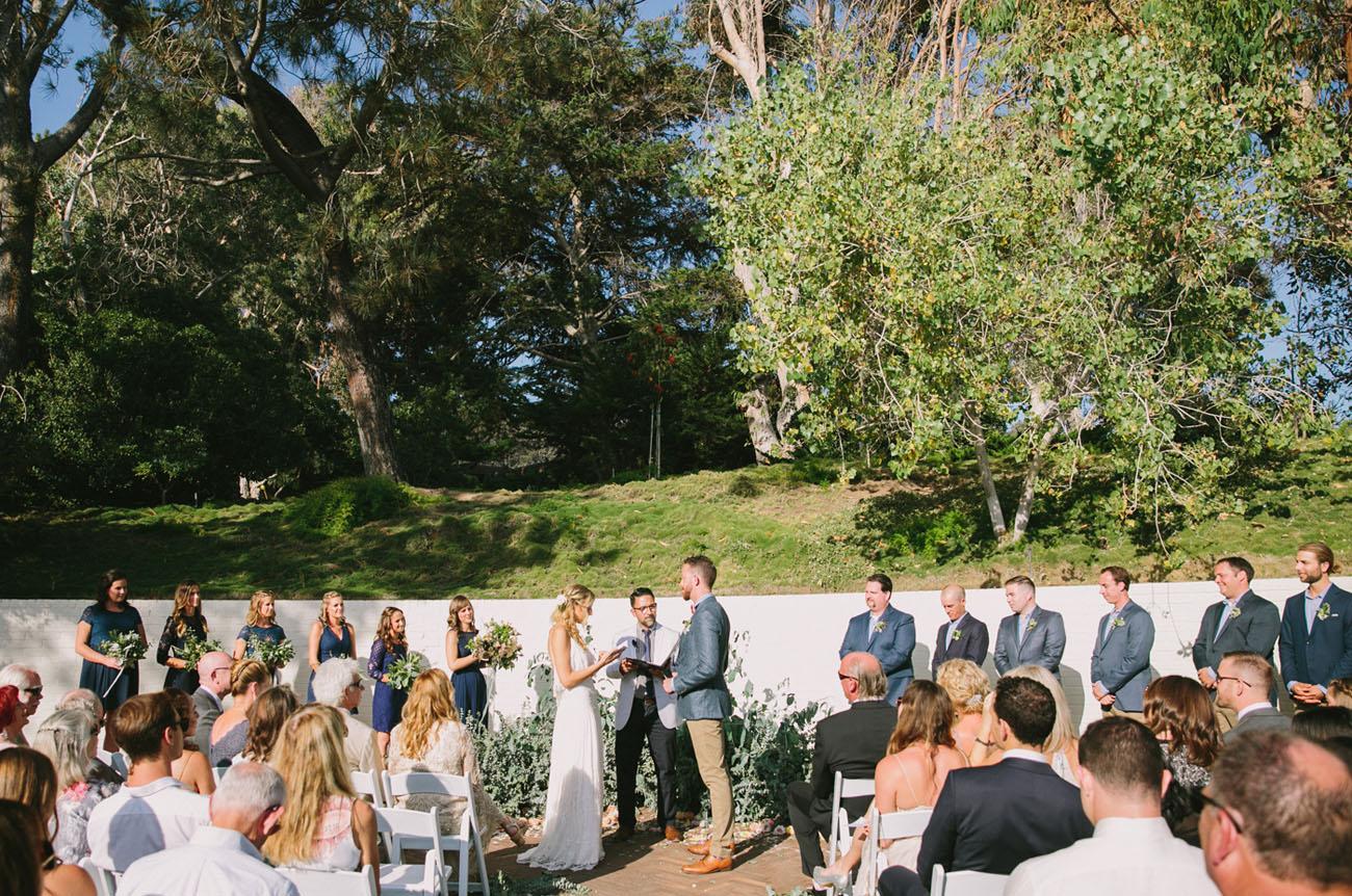 Modern Ocean View Wedding