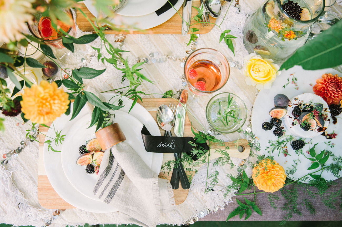 Fall Styled Tablescape