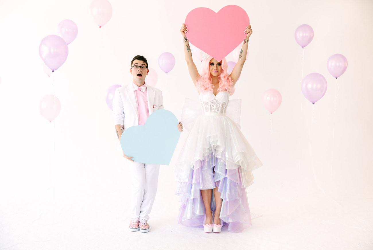 Pastel Kawaii WonderlandInspired Wedding Chrissa Jon Part 1