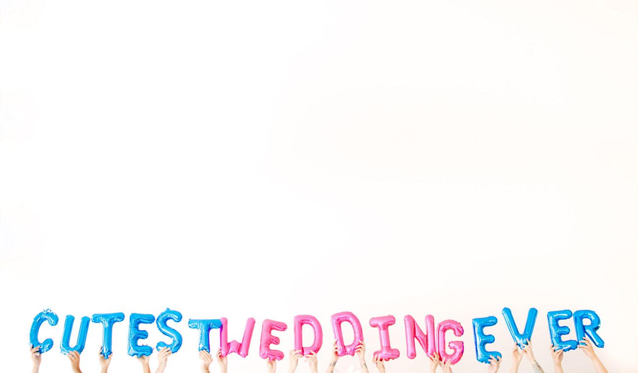 cutest wedding ever