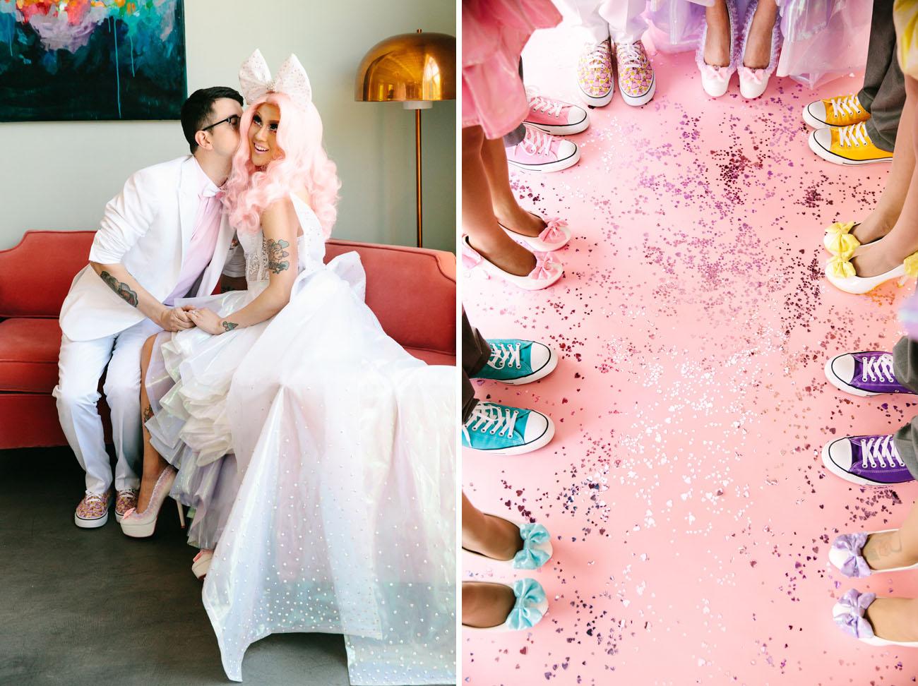 Pastel kawaii wonderland inspired wedding chrissa jon part 1 kawaii wonderland wedding ombrellifo Image collections