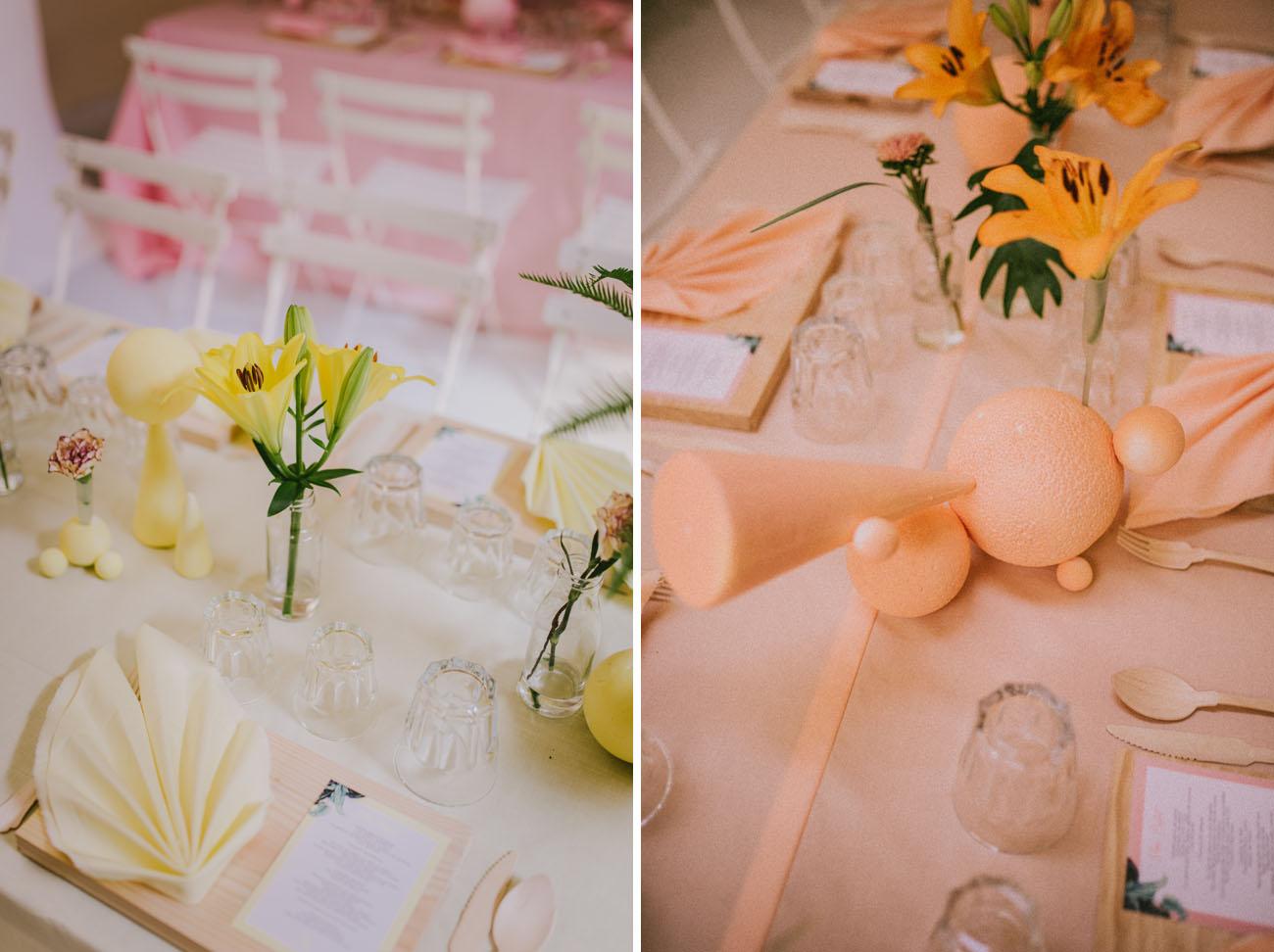 Colorful DIY Madrid Wedding