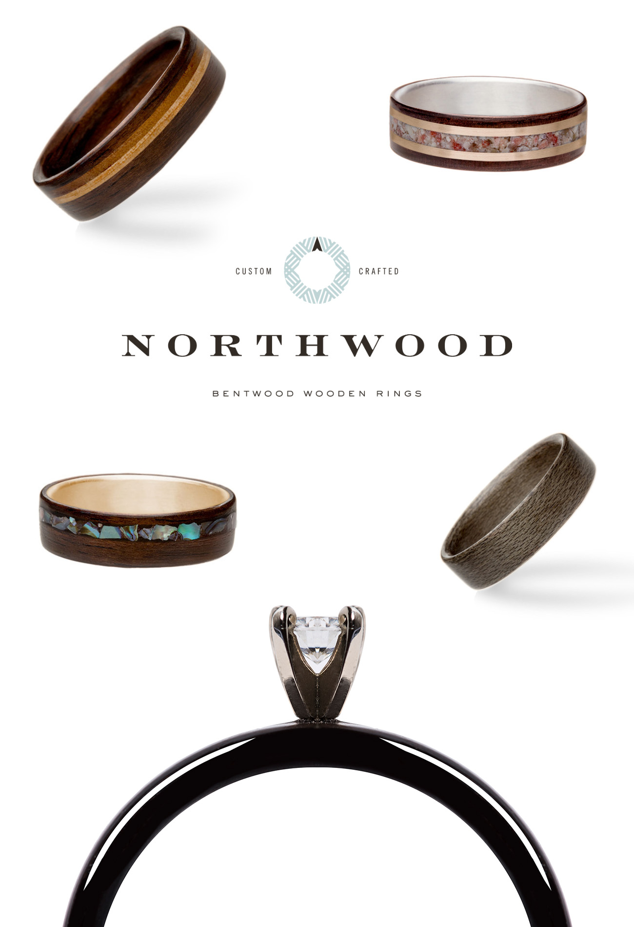 northwood wooden rings