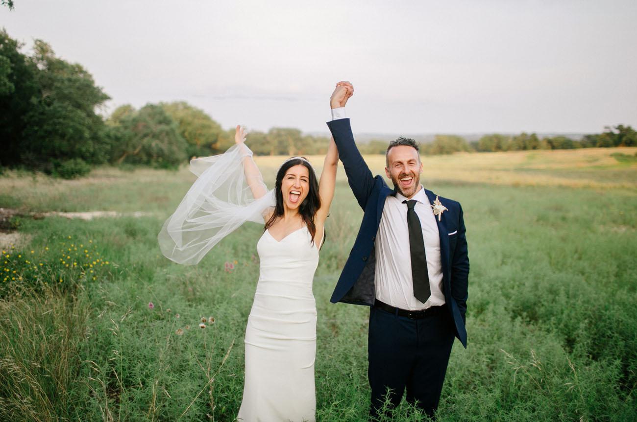 Modern Austin Wedding