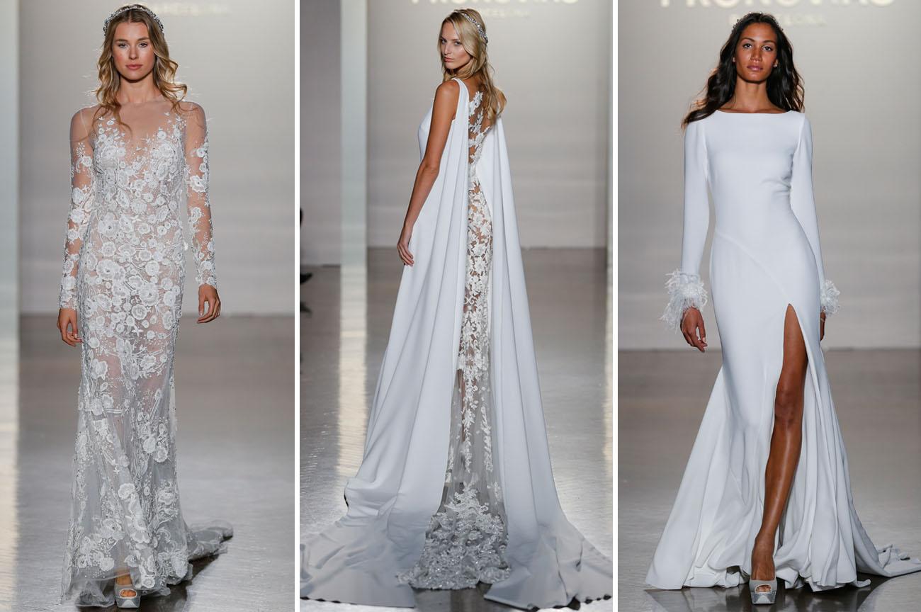 Pronovias Real Wedding Inspiration: 2017 Atelier Pronovias Collection From New York Bridal