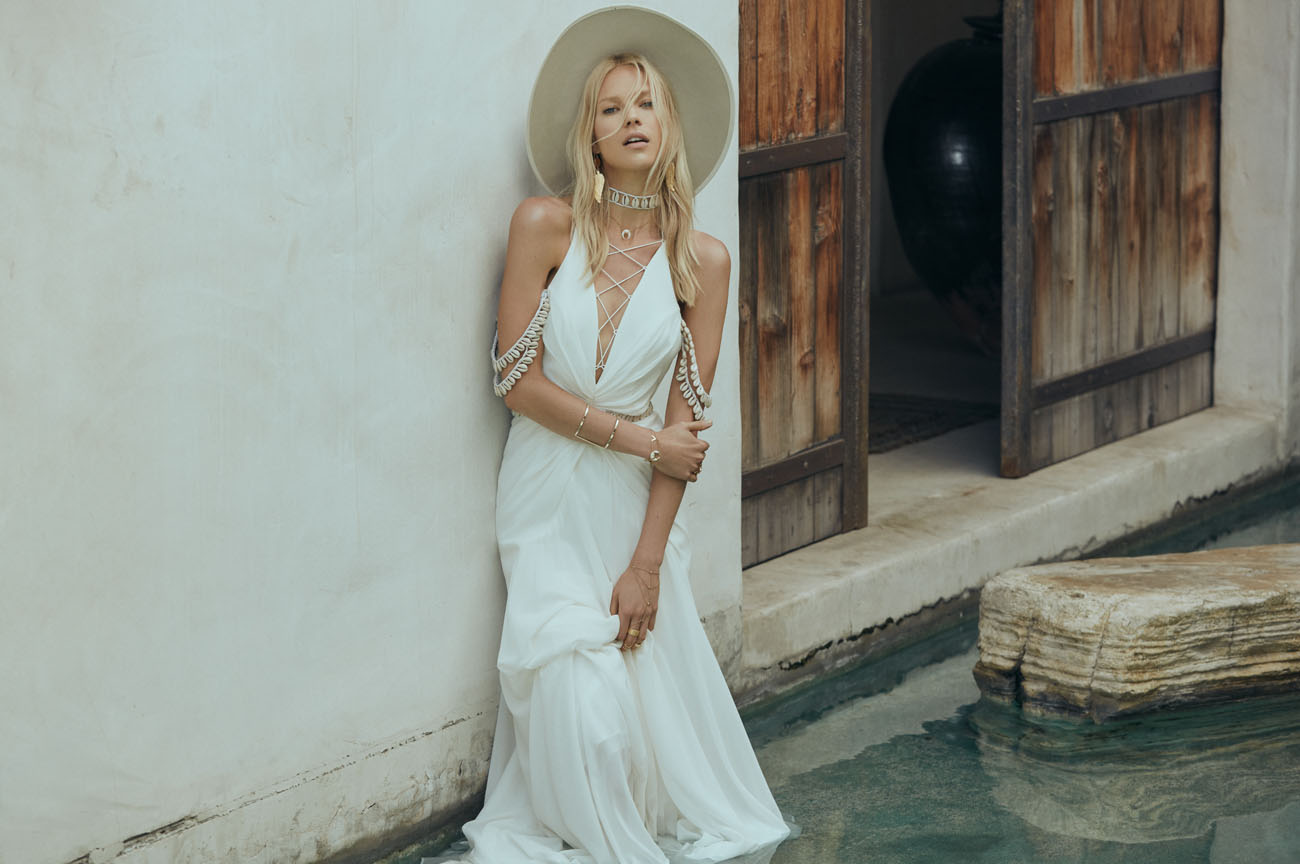 Boho Wedding Dresses from Rue De Seine\'s Love Spell Collection ...