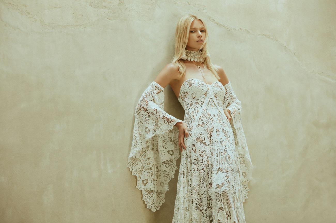 Boho Wedding Dresses From Rue De Seine's Love Spell