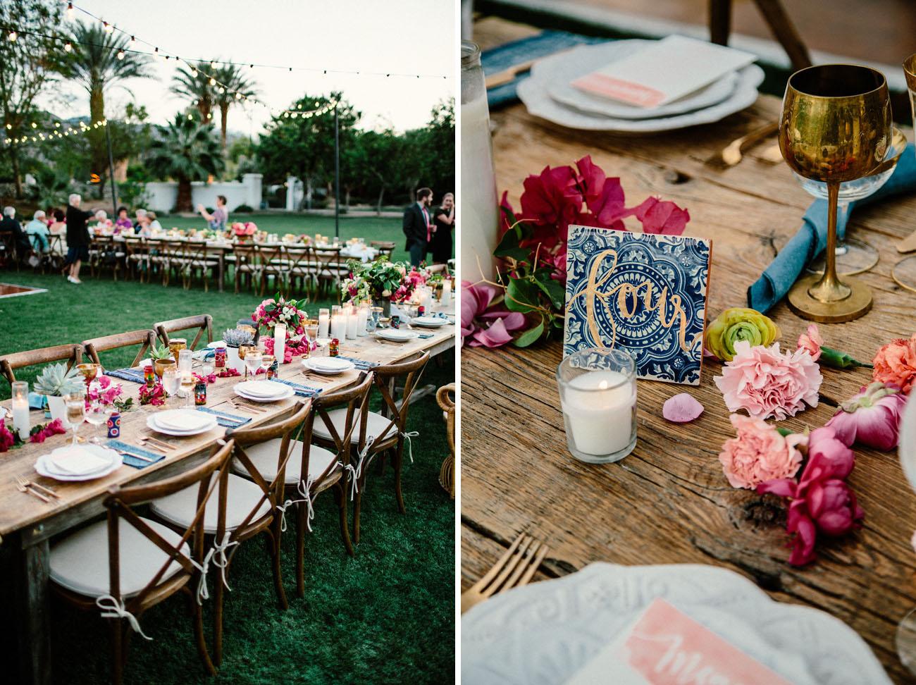 Spanish Desert Wedding