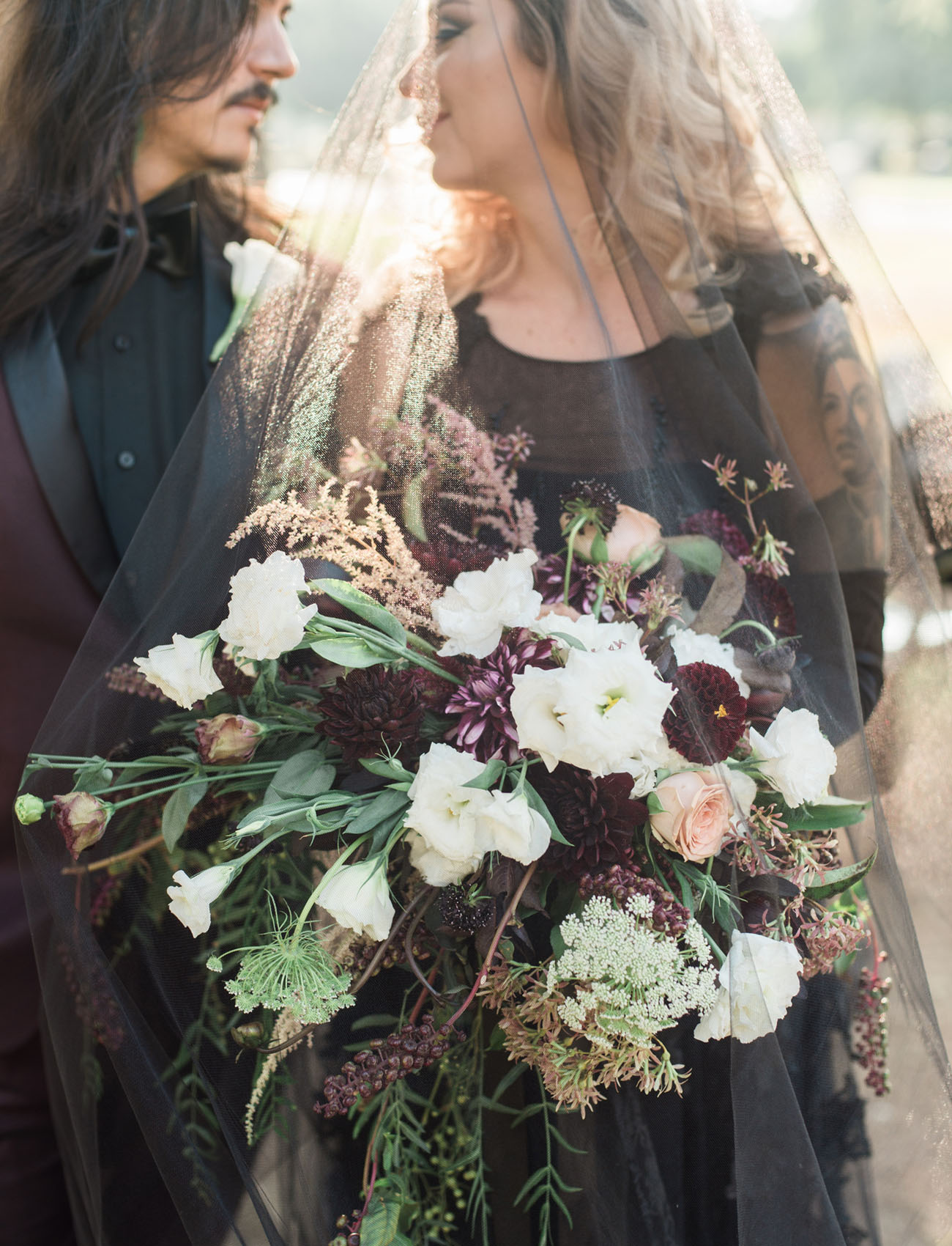 spooky bouquet