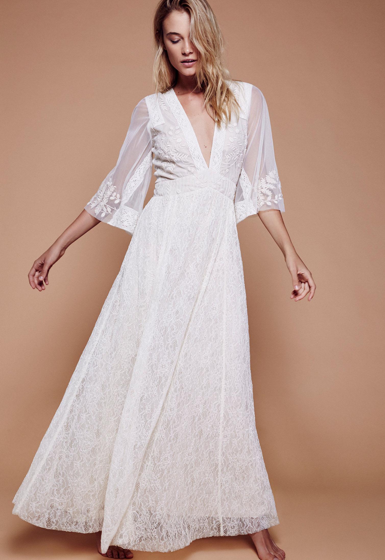 Eclair lace maxi dress green wedding shoes weddings for Shoes for maxi dress wedding