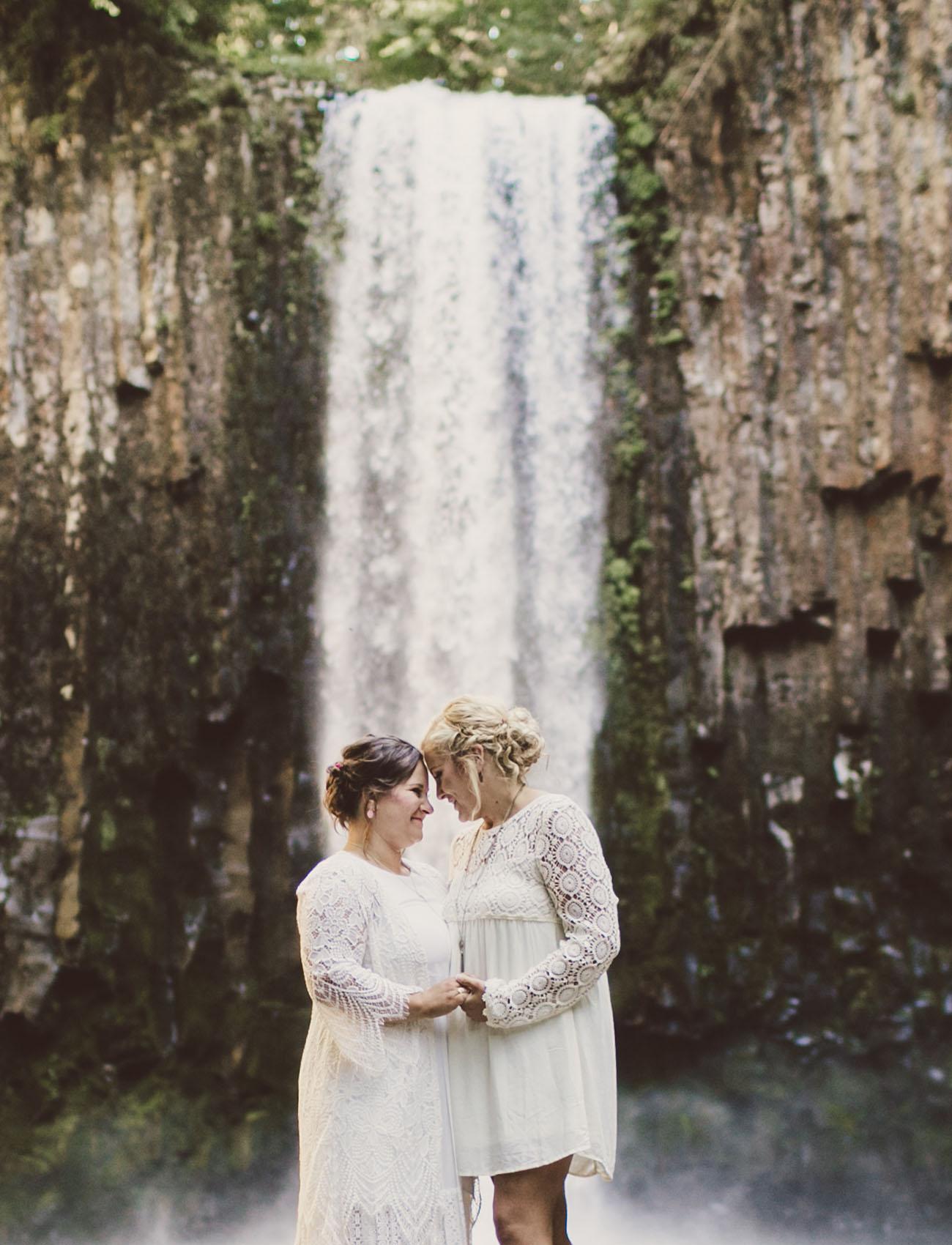 Abiqua Falls Elopement