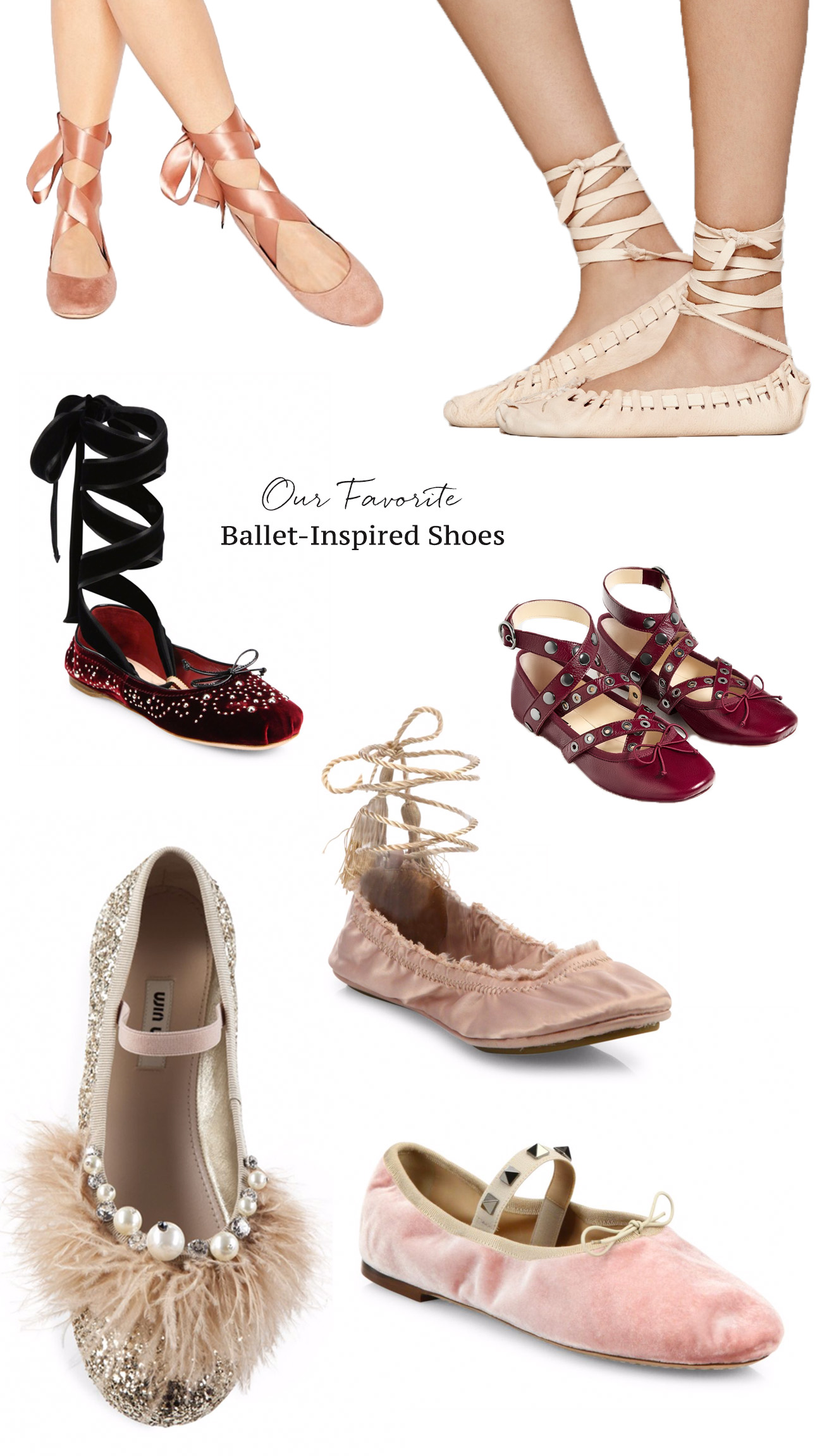 ballet-inspired shoes