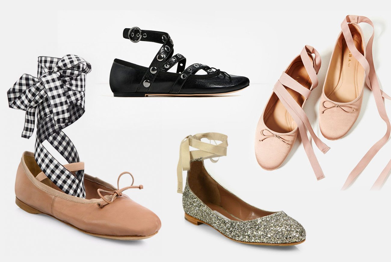 Our Favorite Ballet-Inspired Shoes