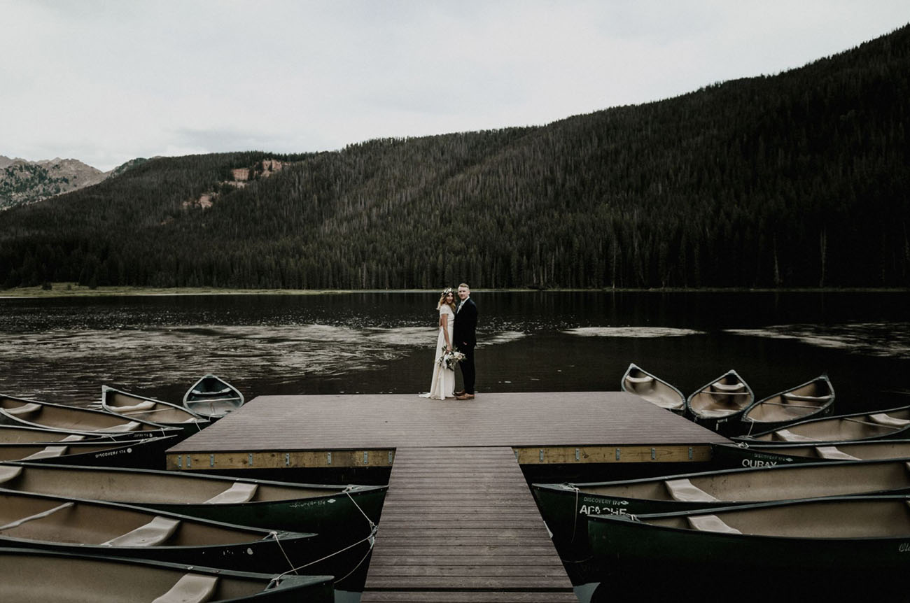 Boho Colorado Wedding