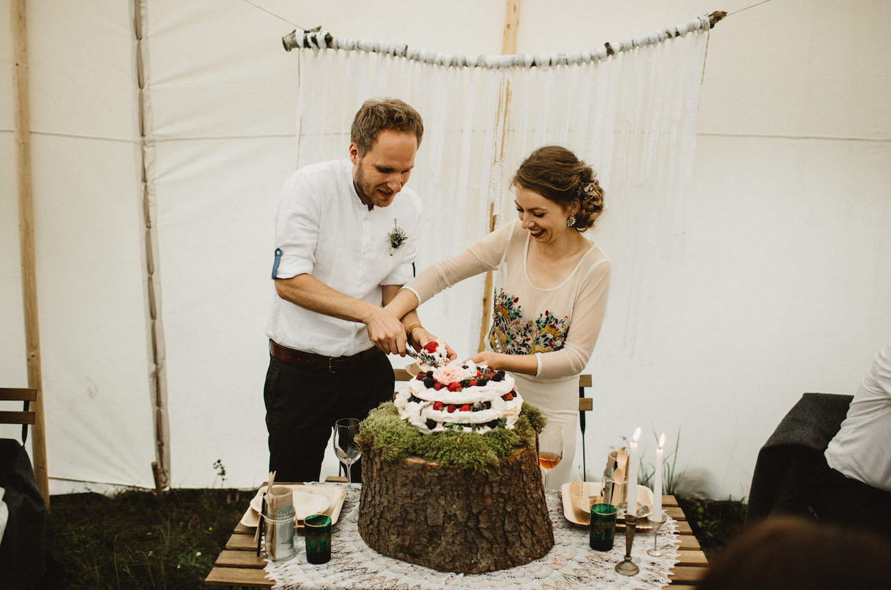 Boho Czech Wedding