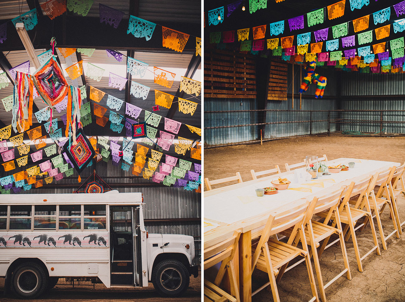 papel picado reception