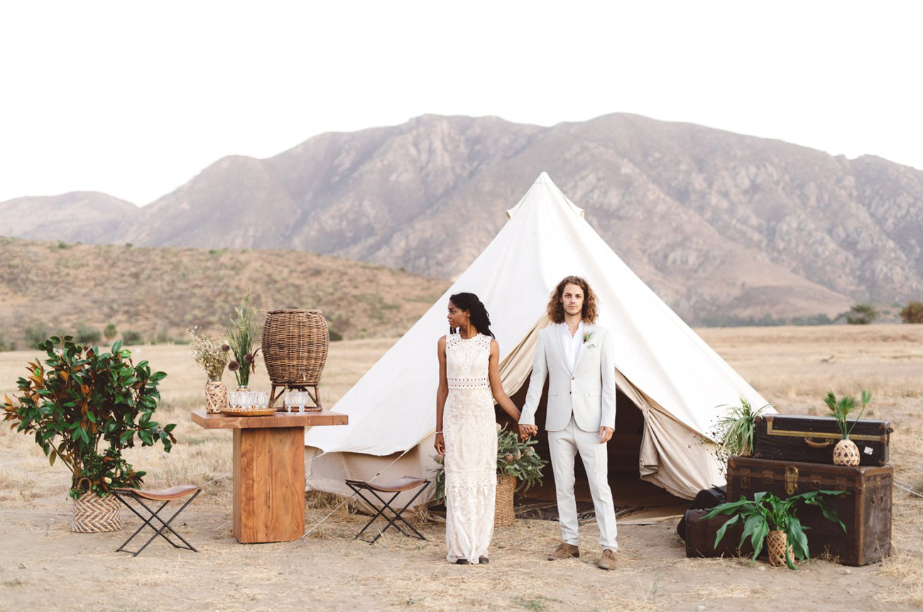 Modern Take on a Safari-Inspired Wedding