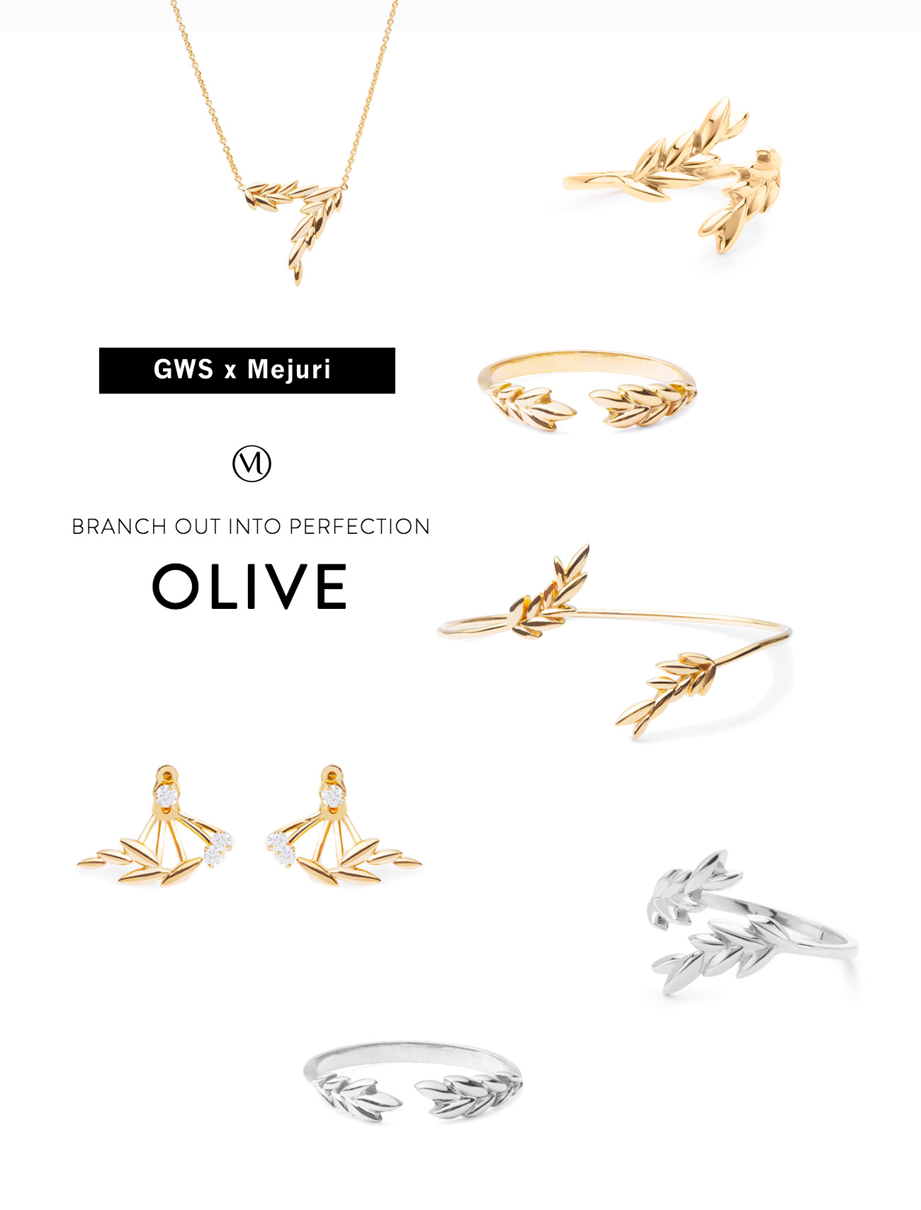 GWS x Mejuri Jewelry collection