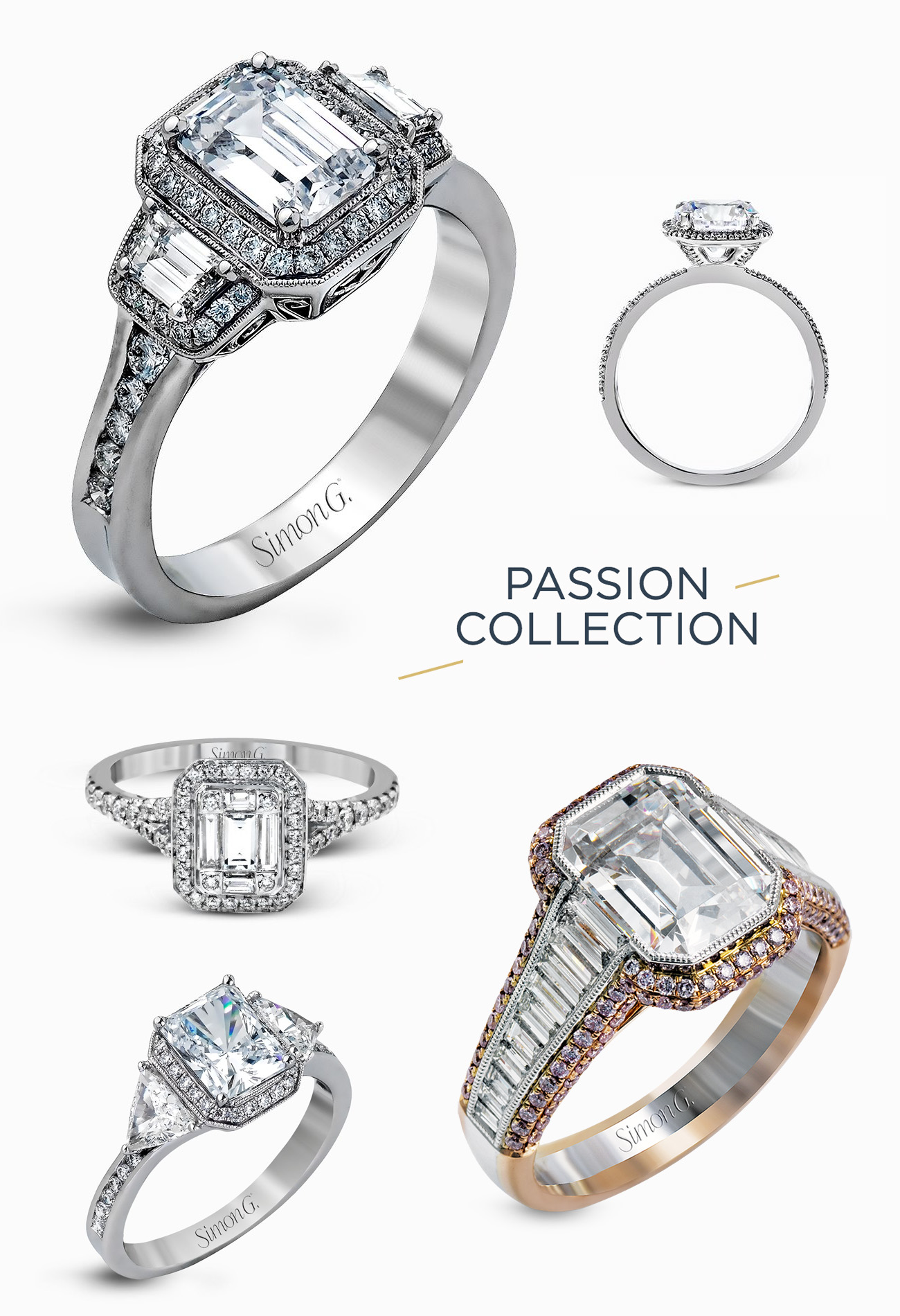 engagement rings from Simon G