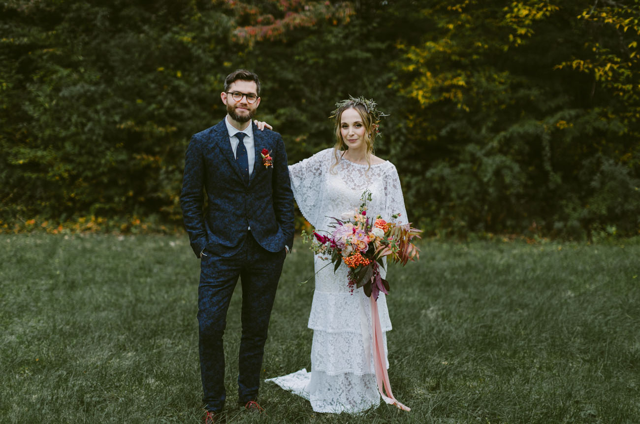 Intimate + Artistic Wedding in Tivoli, New York