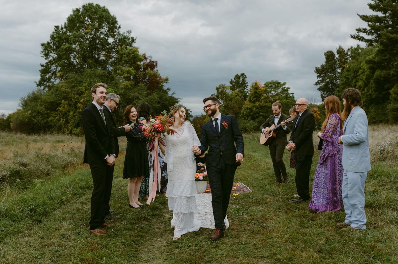 Boho New York Wedding