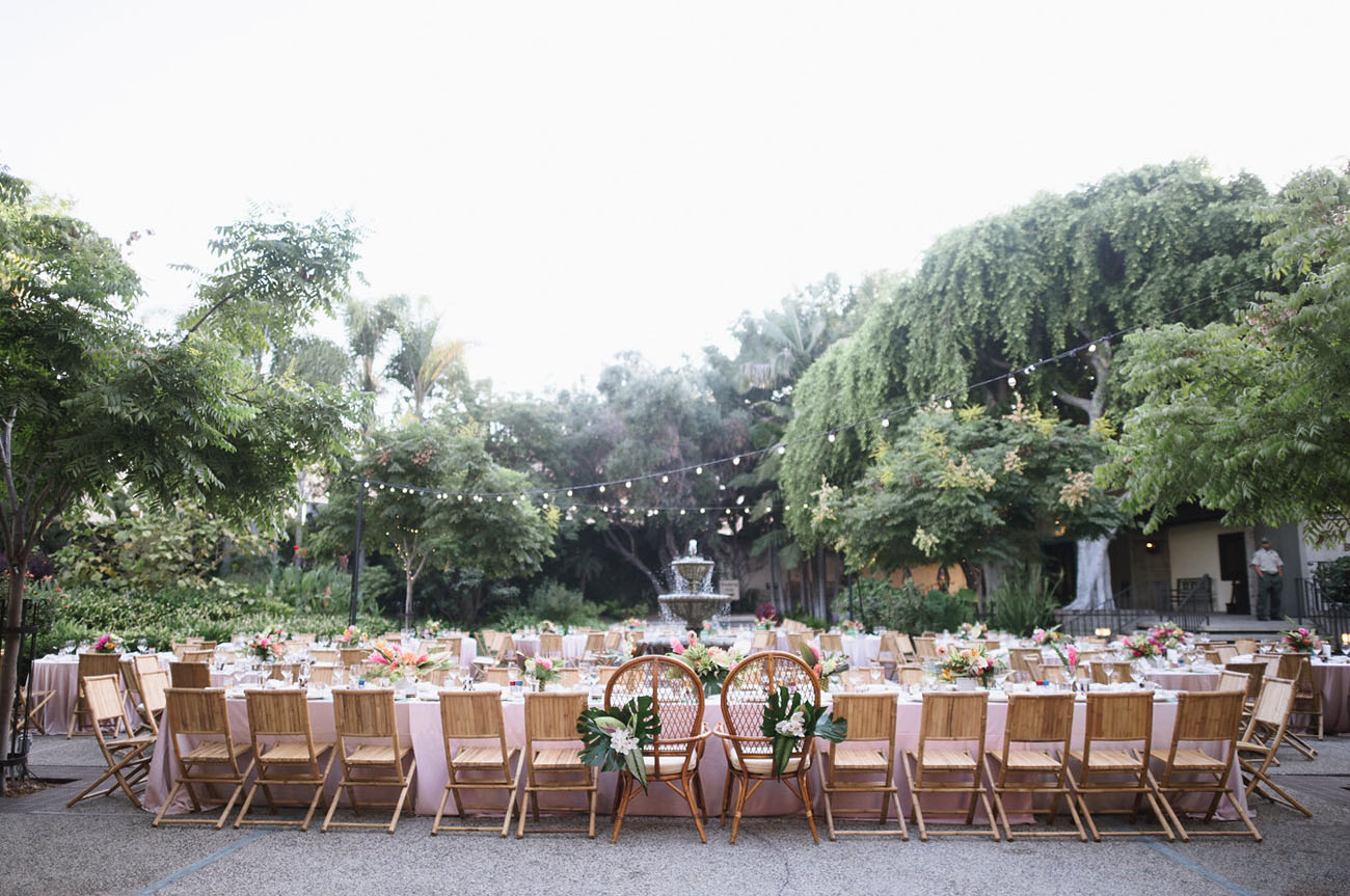 Tropical Glam Wedding