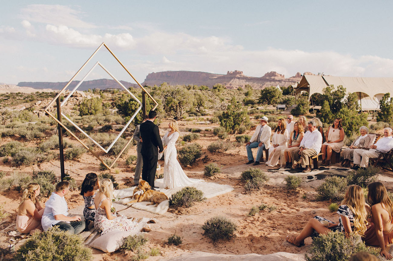 Weddingchella Desert Wedding