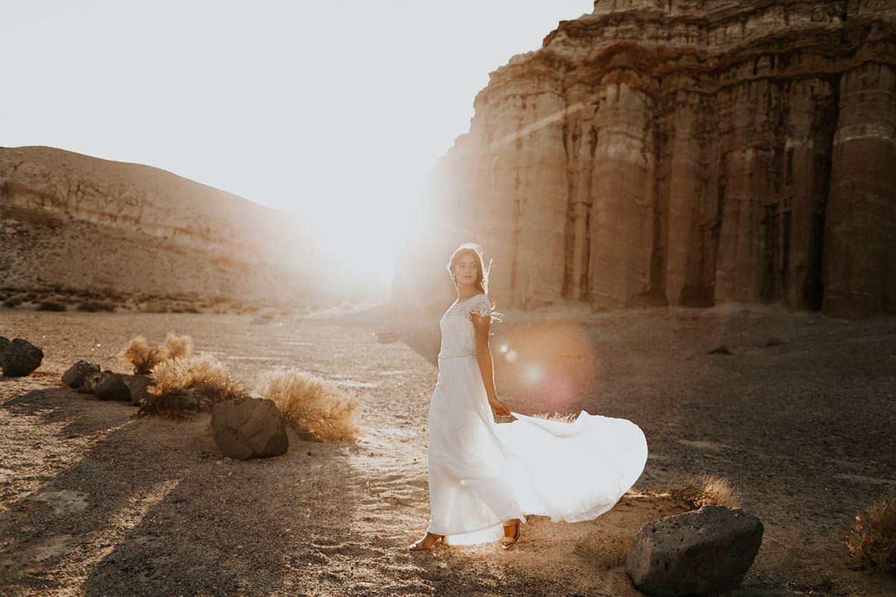 Romantic + Bohemian-Inspired Wedding Dresses by Anna Campbell