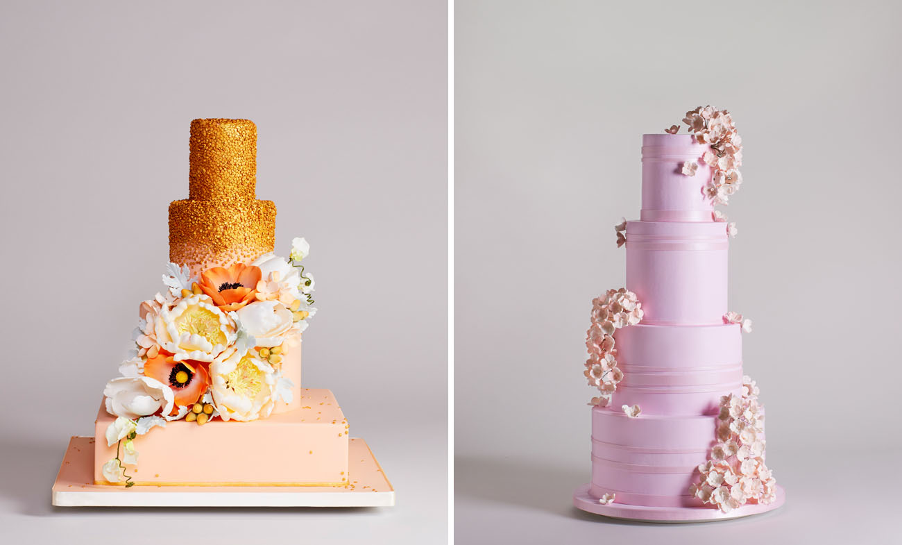 Bottega Louie's Wedding Cake Collection