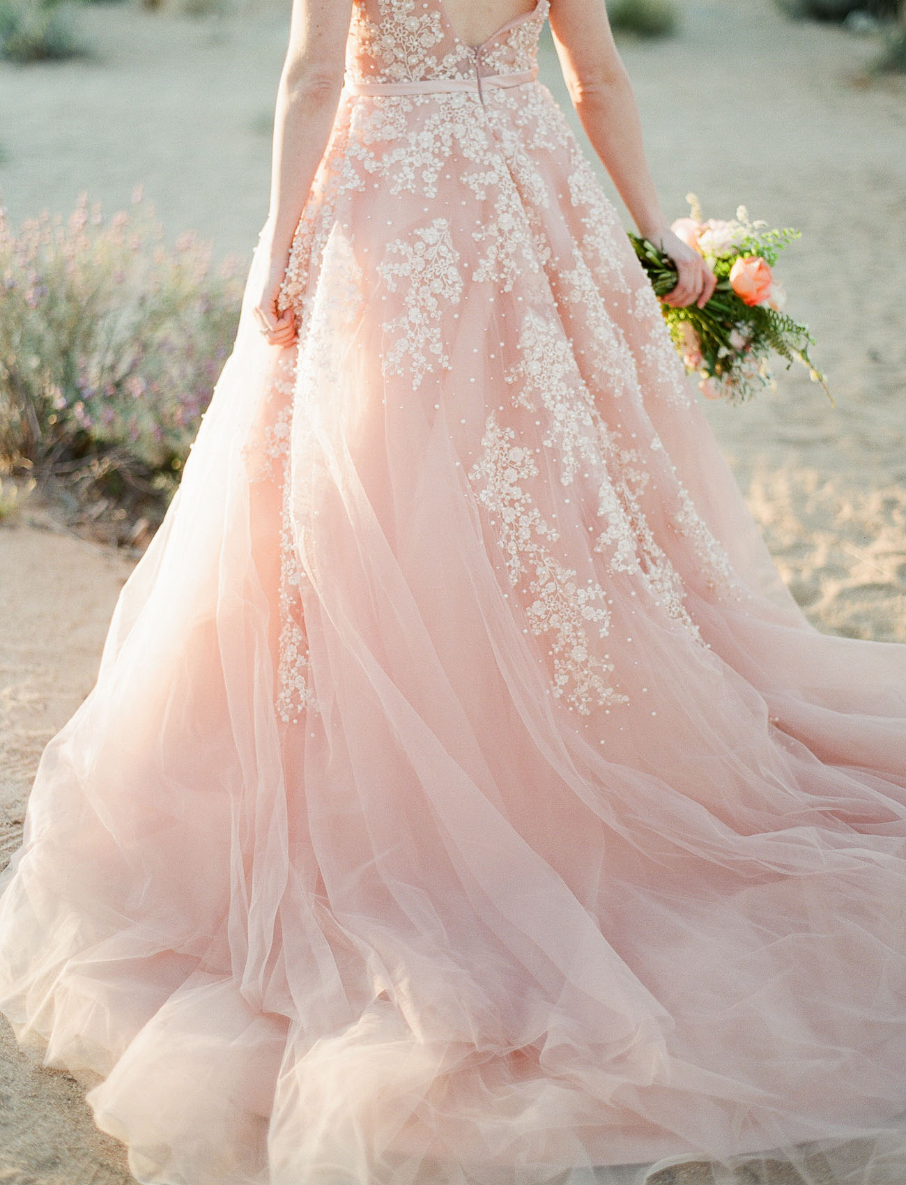 Our favorite wedding dresses from 2016 green wedding shoes for Pink wedding dresses pictures