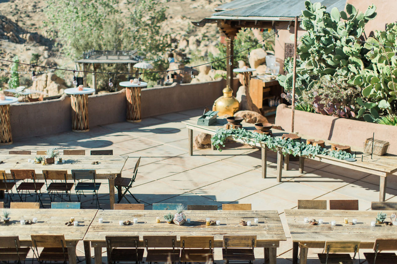 Eclectic, Moroccan, Joshua Tree Glamping Wedding