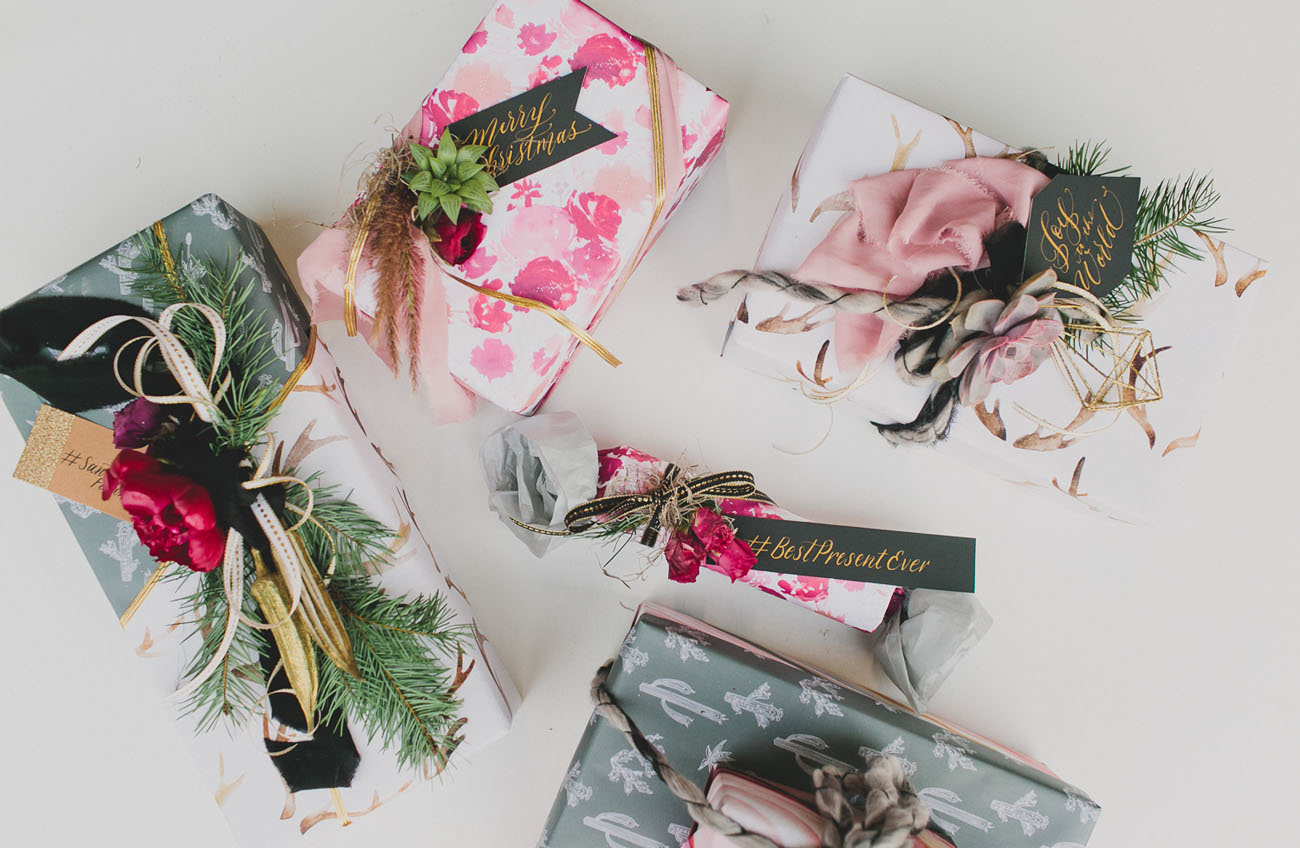 How to Throw a Holiday Gift Wrapping Party