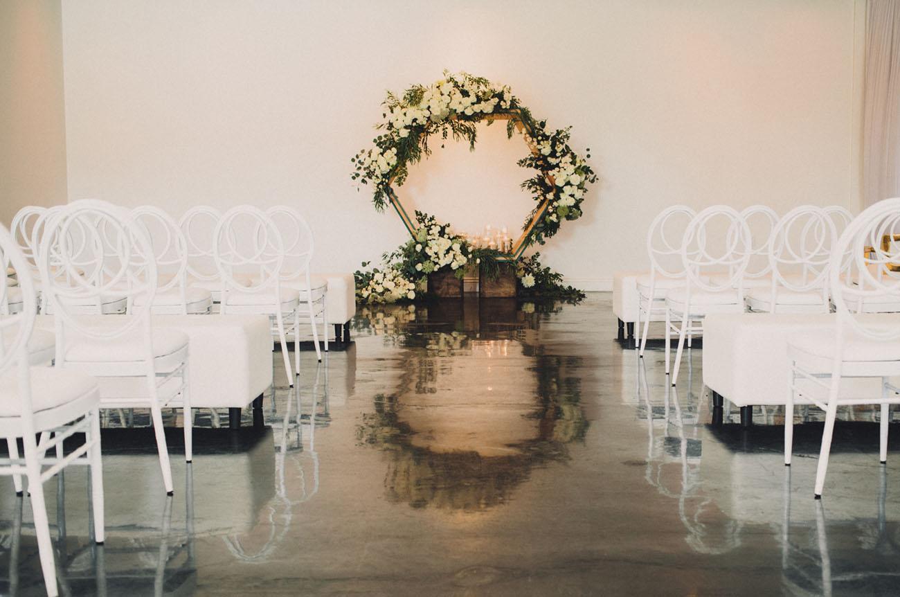 Handmade Geometric Wedding