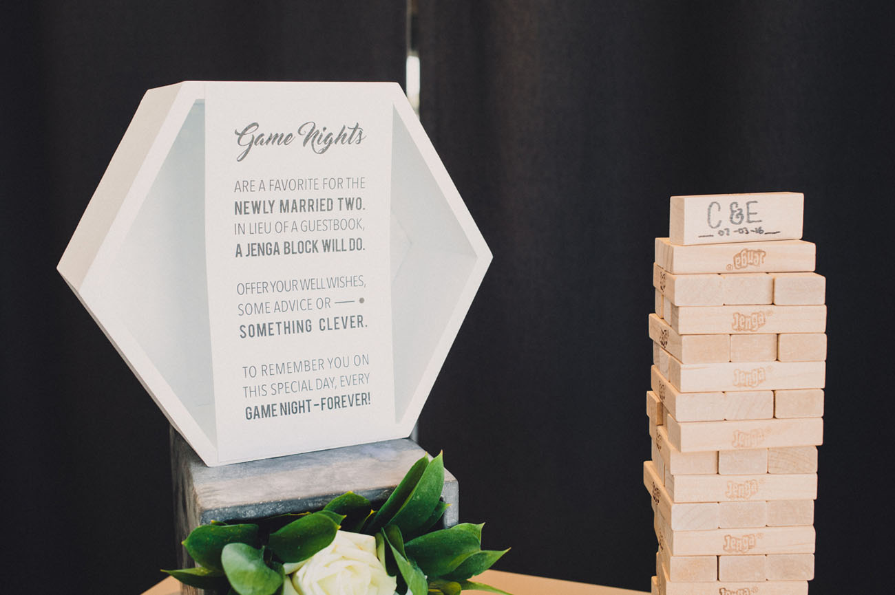 Handmade Geometric Wedding