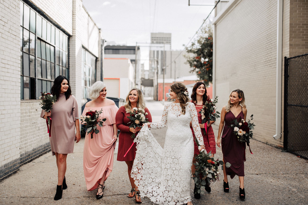 Fall Rooftop Wedding