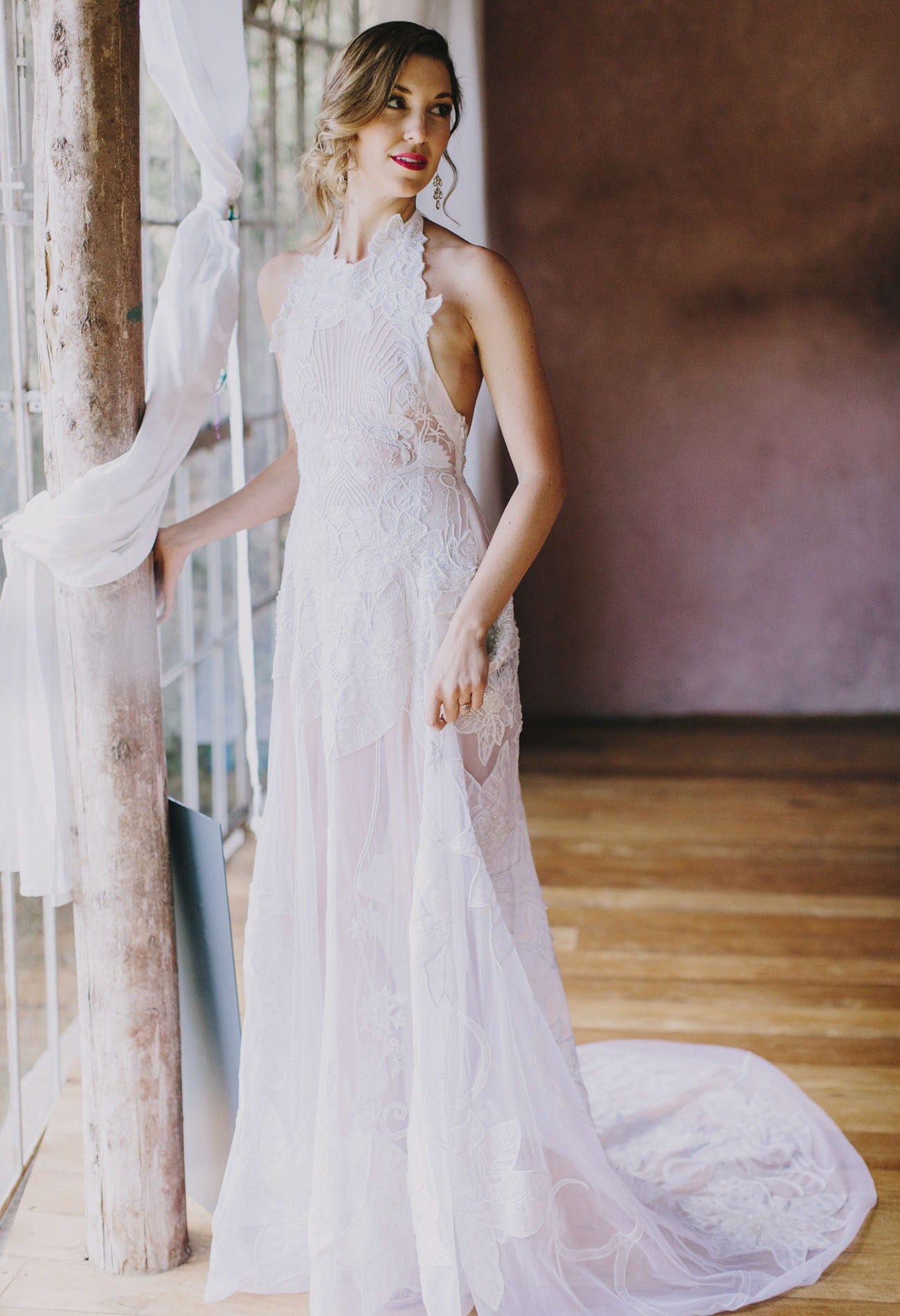 our favorite wedding dresses from sheer wedding dresses This Embellished Semi Sheer Wedding Dress