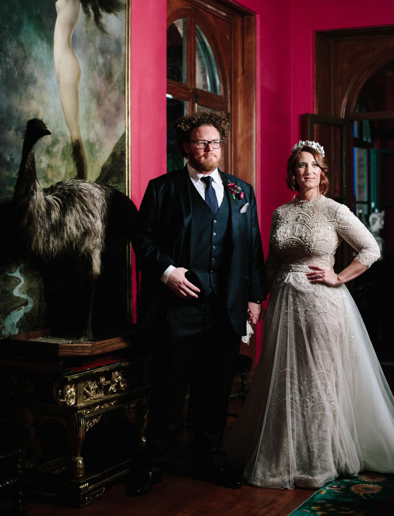 Romantic Mansion Wedding